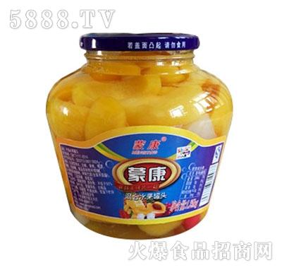 蒙康1.5kg混合水果罐头