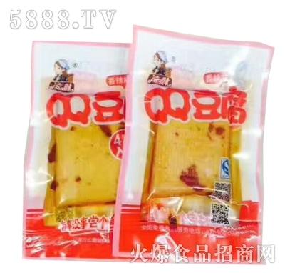 凌妹QQ豆腐18G香辣味