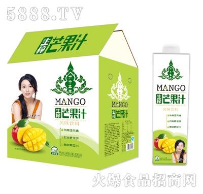 六个高原芒果汁1.5Lx6瓶(方瓶)