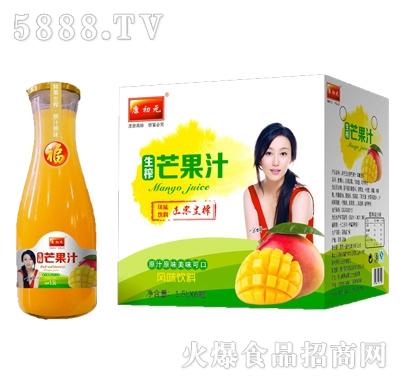 康初元1.5Lx6瓶生榨芒果汁