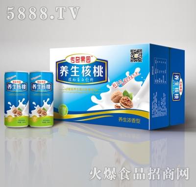 传奇果园养生核桃240ml(箱)