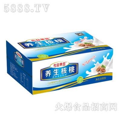 传奇果园养生核桃240ml箱体(养生浓香型)