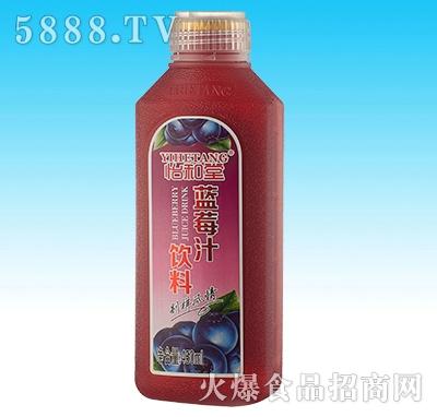450ml怡和堂蓝莓汁(15瓶装)
