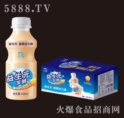 名人缘益生元乳酸菌饮品420mlX15