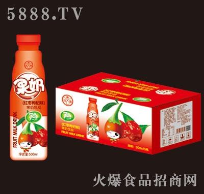 优典源果奶红枣枸杞味500mlX15