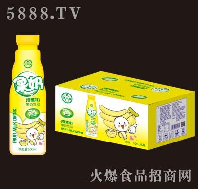 优典源果奶香蕉味500mlX15