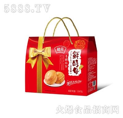 初元鲜酵母手撕面包礼盒1.008千克
