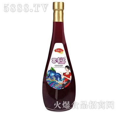 奇福记莓味人生蓝莓汁饮料1.5L
