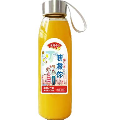 奇福记榴莲+芒果复合果汁饮料420ml