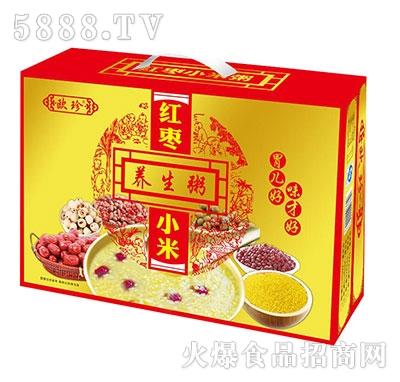 欧珍红枣小米养生粥礼品盒