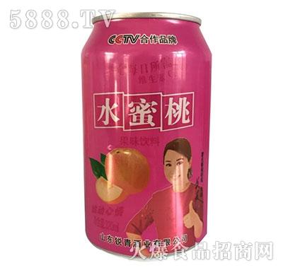 雪仔水蜜桃果味饮料320ml