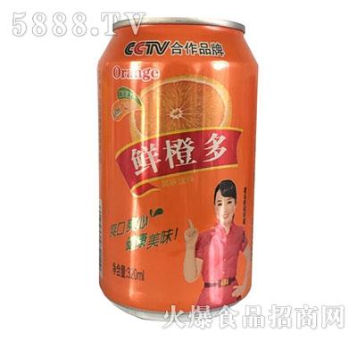 雪仔鲜橙多果味饮料320ml