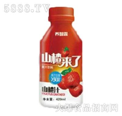 养智露山楂汁420ml