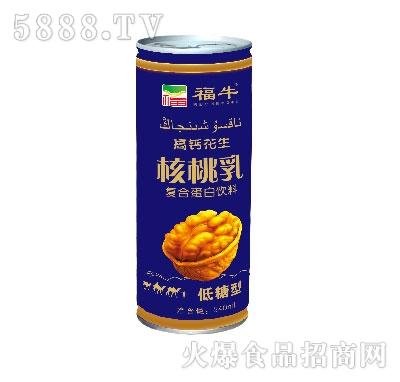 福牛高钙花生核桃乳低糖型(罐装)