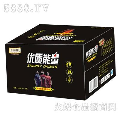 强民优质能量强化型营养素饮料600mlX15瓶