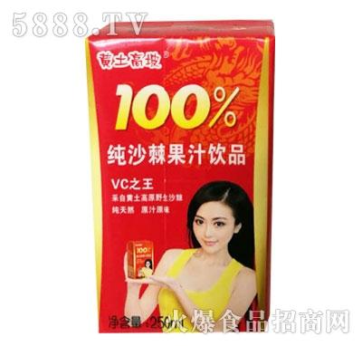 黄土高坡纯沙棘果汁饮品250ml