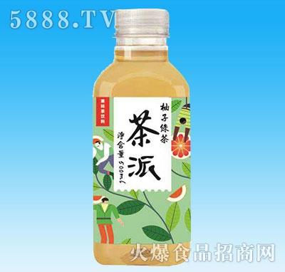 茶派柚子绿茶500ml