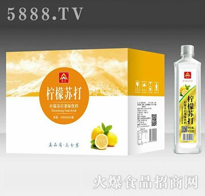 真众柠檬苏打水400mlx24瓶