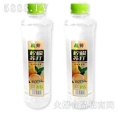 战斧柠檬苏打柠檬味饮料400ml