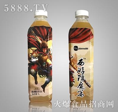 片断西游降魔篇芒果+黄桃复合果汁饮料1L