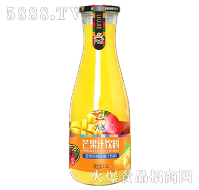 六杰芒果汁饮料1.5L