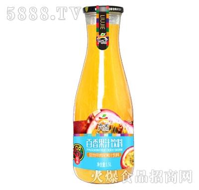 六杰百香果汁饮料1.5L