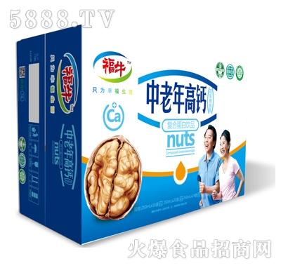 福牛中老年高钙复合蛋白饮品(箱)