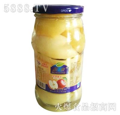 蒙康苹果罐头1kg