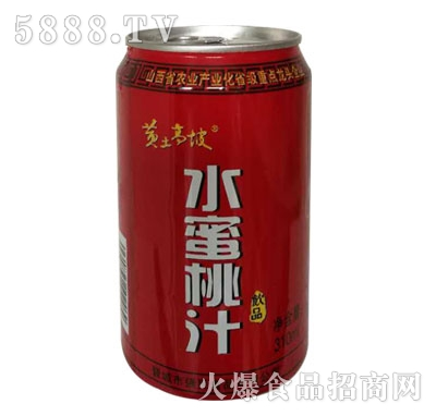 黄土高坡水蜜桃汁310ml