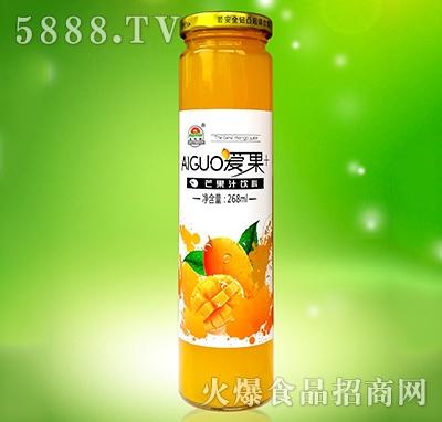 爱果芒果汁268ml
