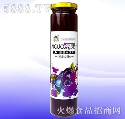爱果蓝莓汁268ml