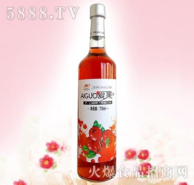 爱果710ml山楂汁