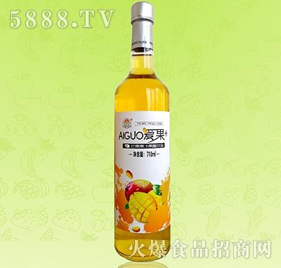 爱果710ml芒果汁