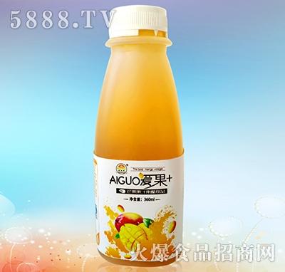 爱果360ml芒果果汁果醋