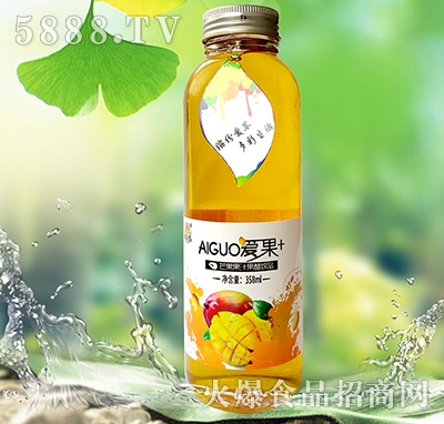 爱果358ml芒果醋