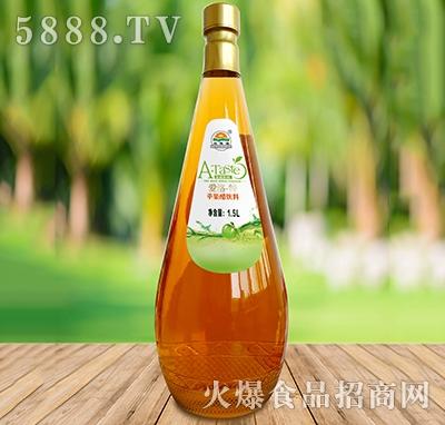 爱洛特苹果醋1.5L玻璃瓶