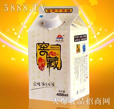 品味源窖藏苹果醋盒488ml