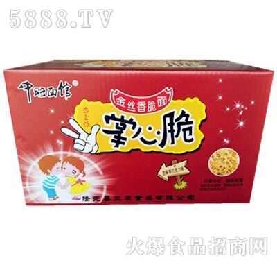 中旺面馆掌心脆金丝香脆面巧克力味箱