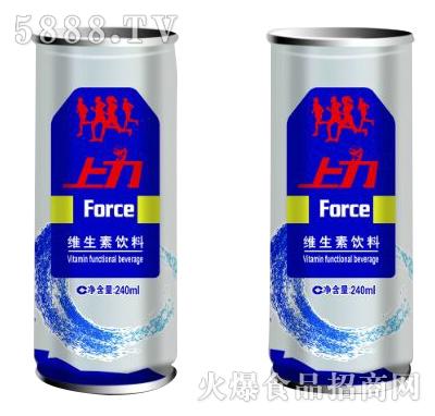 上力维生素饮料240ml产品图