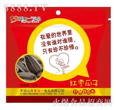 爱加一食品红枣瓜子22克