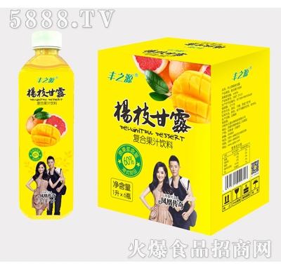 丰之源杨枝甘露果汁饮料1Lx6瓶