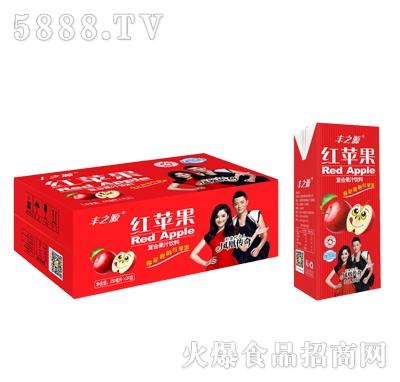 丰之源红苹果果汁饮料250mlx24盒