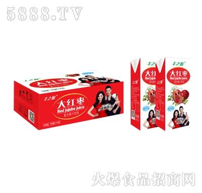 丰之源大红枣果汁饮料240mlx24盒