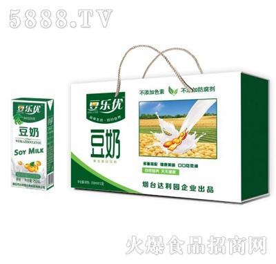 豆乐优豆奶250mlx12盒