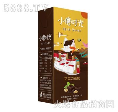 小磨时光巧克力豆奶250mlx24瓶