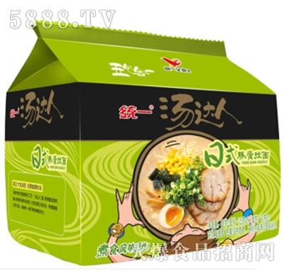 汤达人日式豚骨味方便面五连包