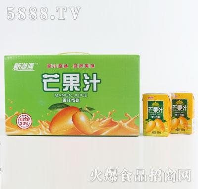 新湖源芒果汁果汁饮料