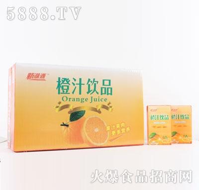 新湖源橙汁饮品