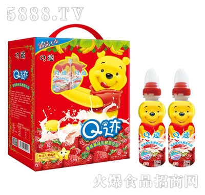 Q迹营养果味乳酸菌饮品果味220ml