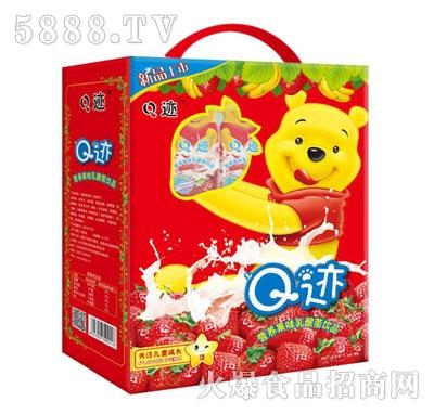 Q迹营养果味乳酸菌饮品(正面)
